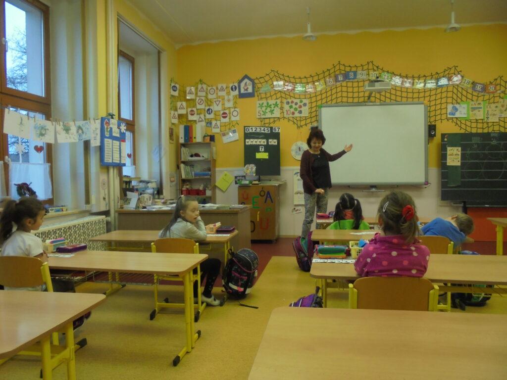 Návštěva 1. třídy Albrechtice n. Orlicí